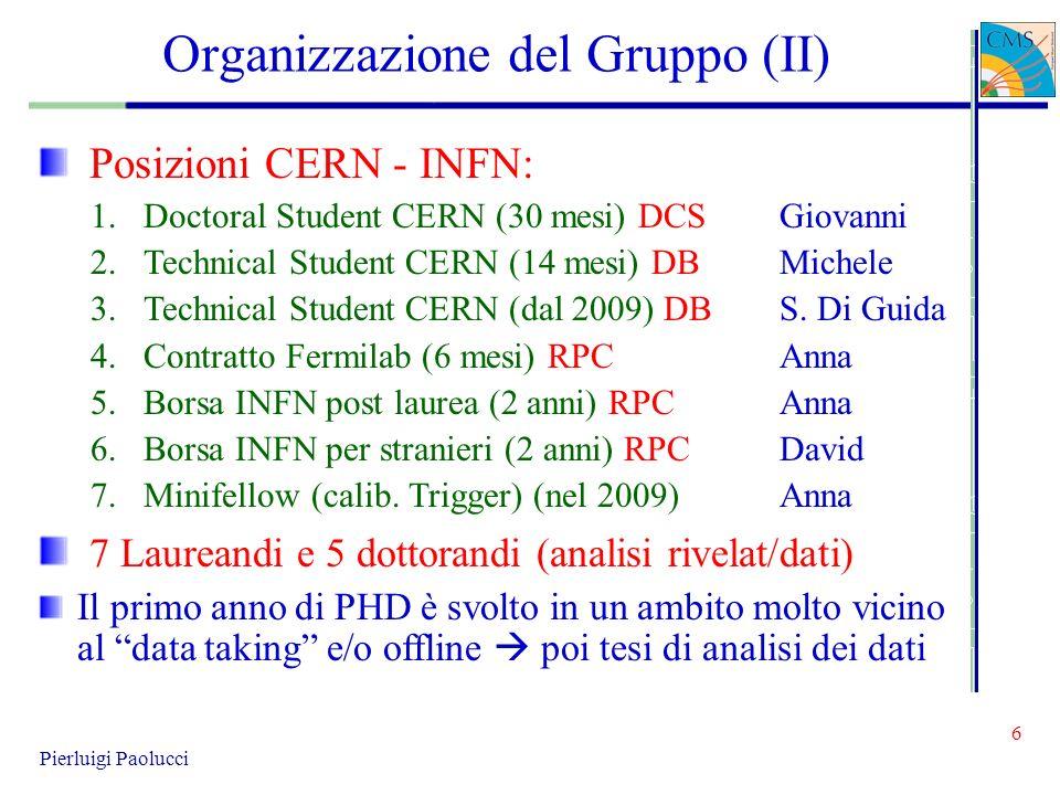 Organizzazione del Gruppo (II)