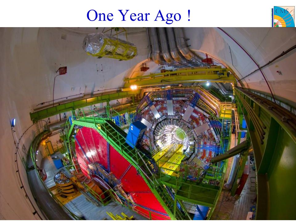 One Year Ago !