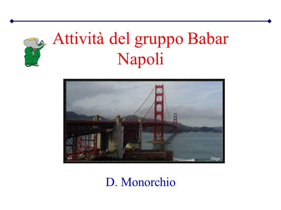 Attività del gruppo Babar Napoli