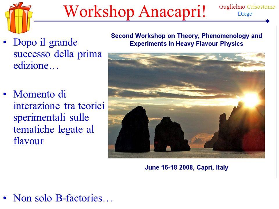 Workshop Anacapri! Dopo il grande successo della prima edizione…