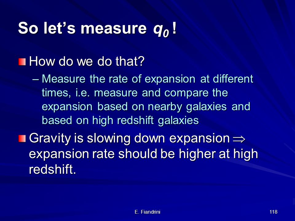 So let's measure q0 ! How do we do that