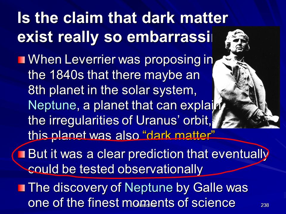 Is the claim that dark matter exist really so embarrassing
