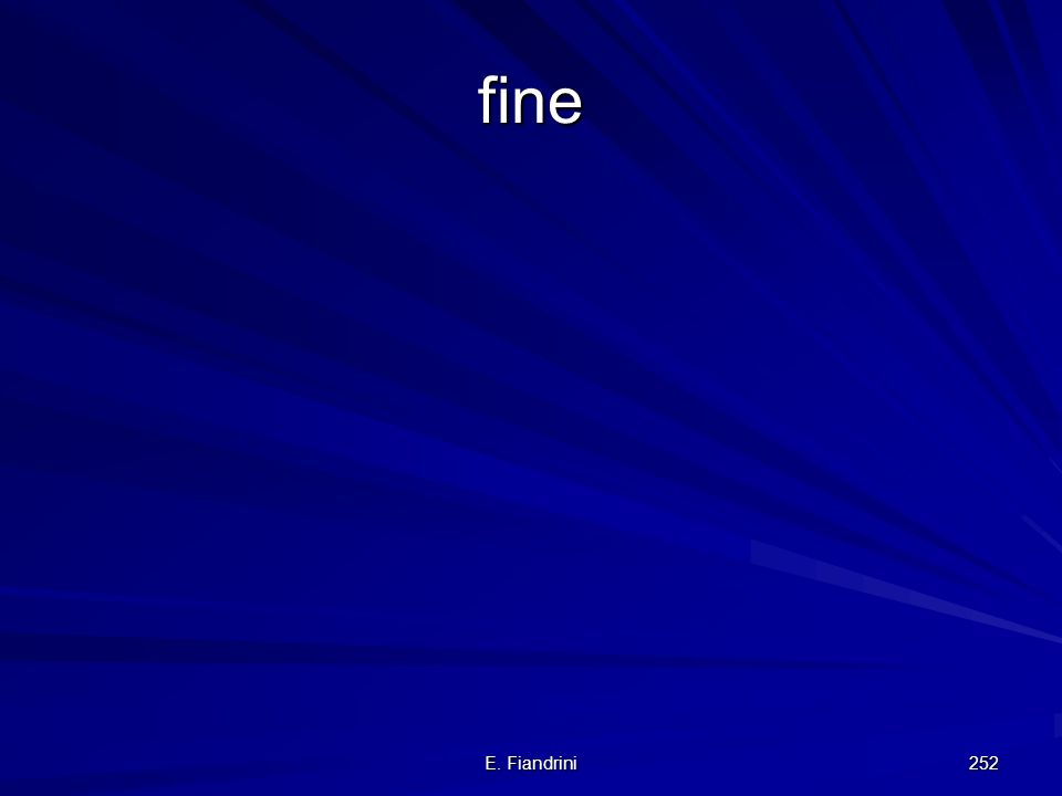 fine E. Fiandrini