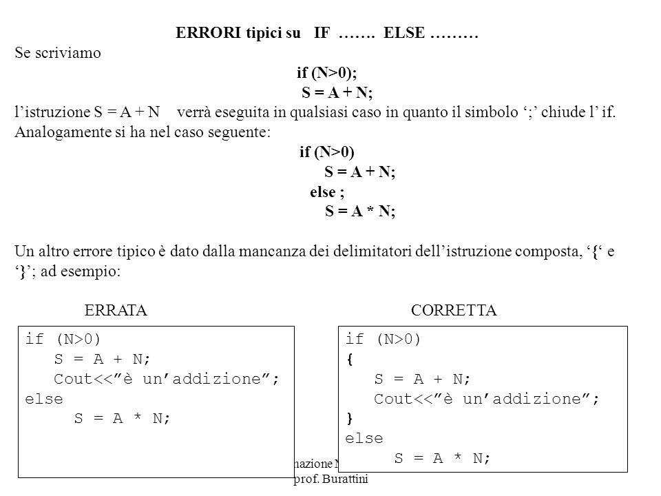 if (N>0); S = A + N; if (N>0) else ; S = A * N;
