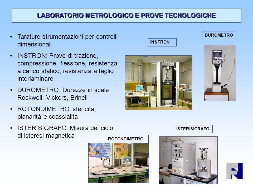 LABORATORIO METROLOGICO E PROVE TECNOLOGICHE
