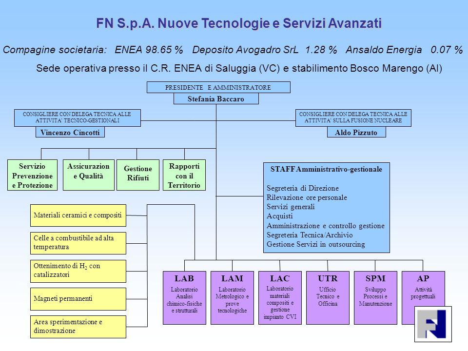 FN S.p.A. Nuove Tecnologie e Servizi Avanzati