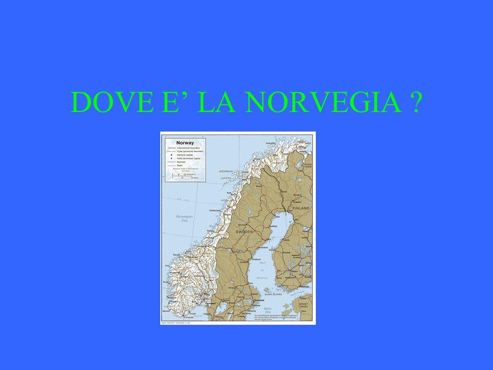 DOVE E' LA NORVEGIA