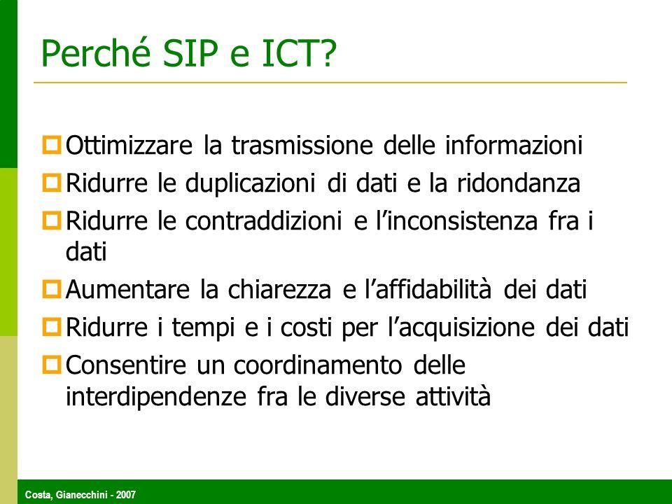 Perché SIP e ICT Ottimizzare la trasmissione delle informazioni
