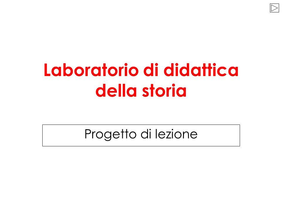 Laboratorio di didattica della storia