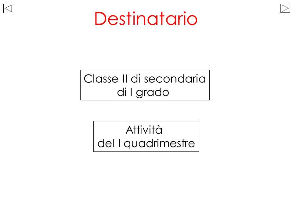 Classe II di secondaria
