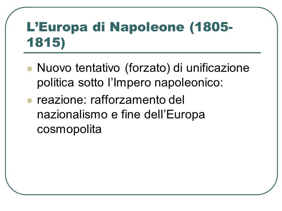 L'Europa di Napoleone (1805-1815)