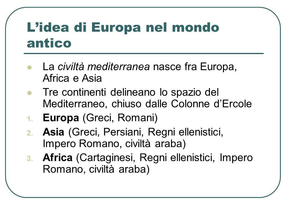 L'idea di Europa nel mondo antico