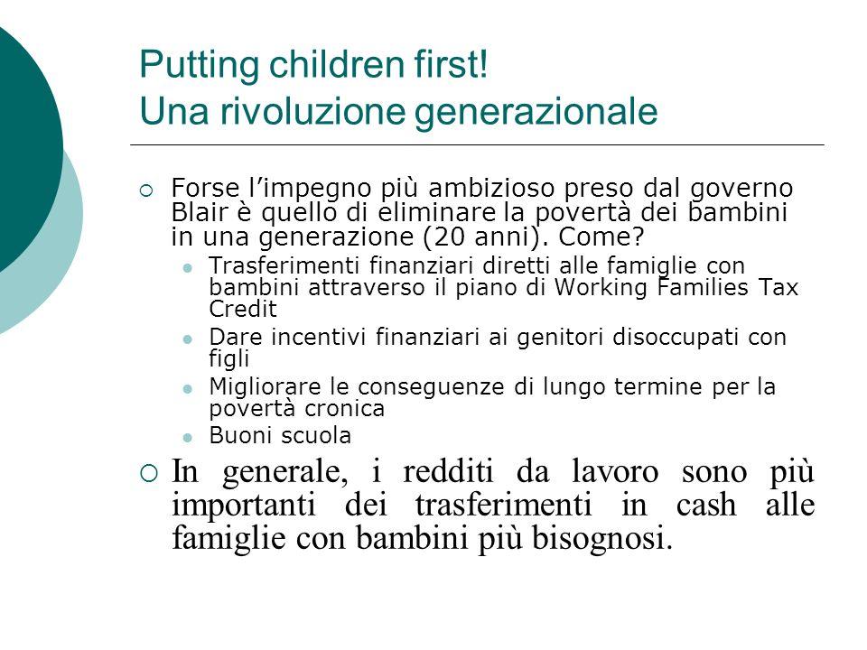 Putting children first! Una rivoluzione generazionale