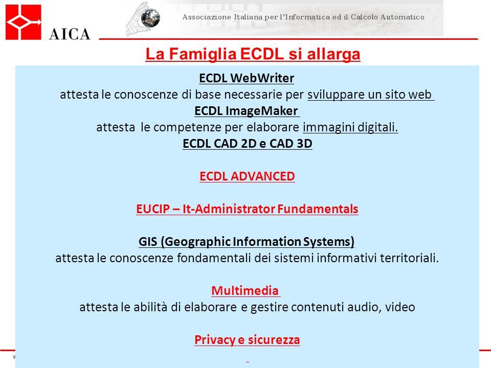 La Famiglia ECDL si allarga EUCIP – It-Administrator Fundamentals
