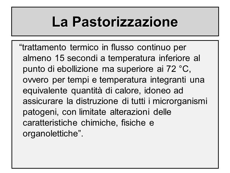 La Pastorizzazione