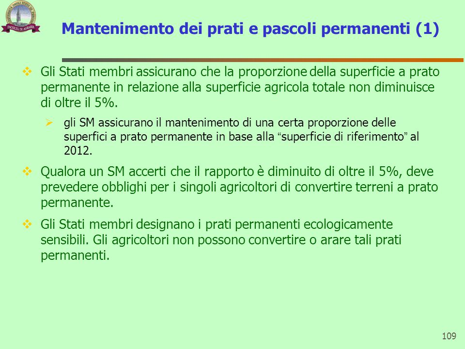 Mantenimento dei prati e pascoli permanenti (1)