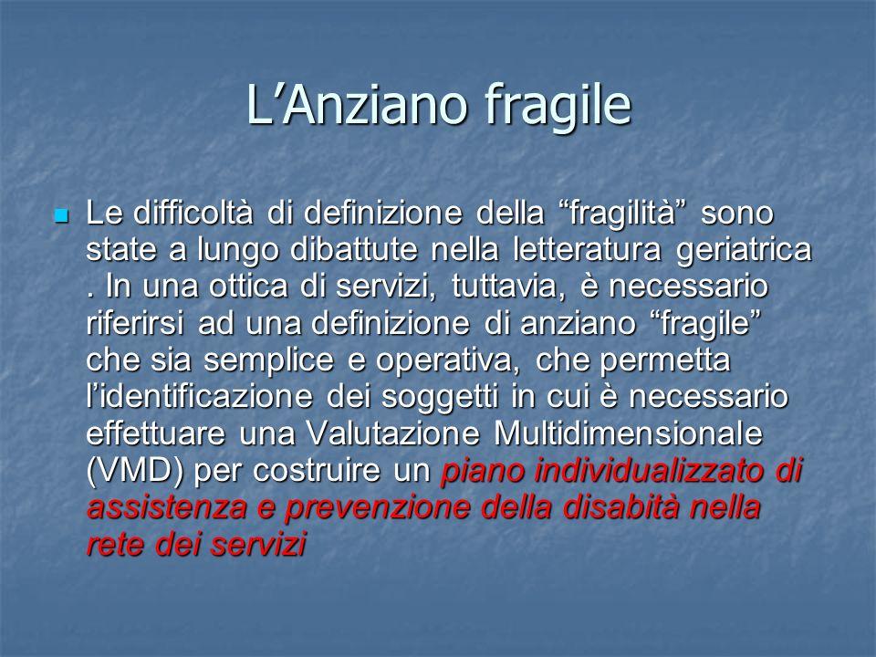 L'Anziano fragile
