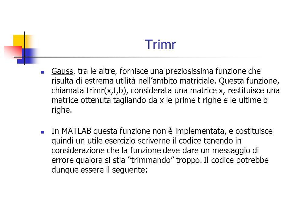 Trimr