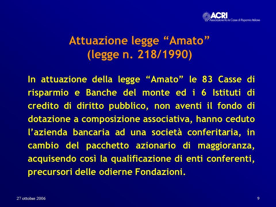 Attuazione legge Amato (legge n. 218/1990)