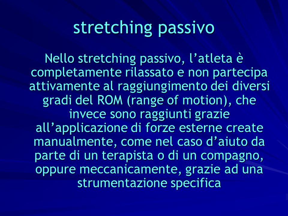 stretching passivo