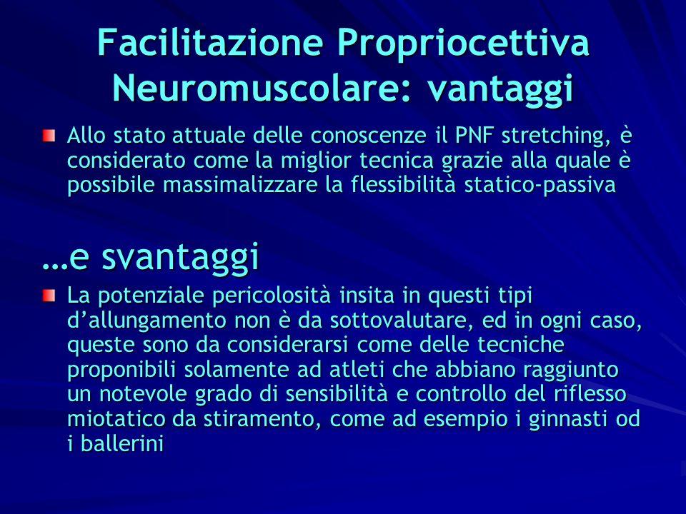 Facilitazione Propriocettiva Neuromuscolare: vantaggi