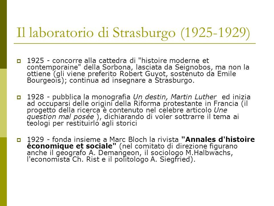 Il laboratorio di Strasburgo (1925-1929)