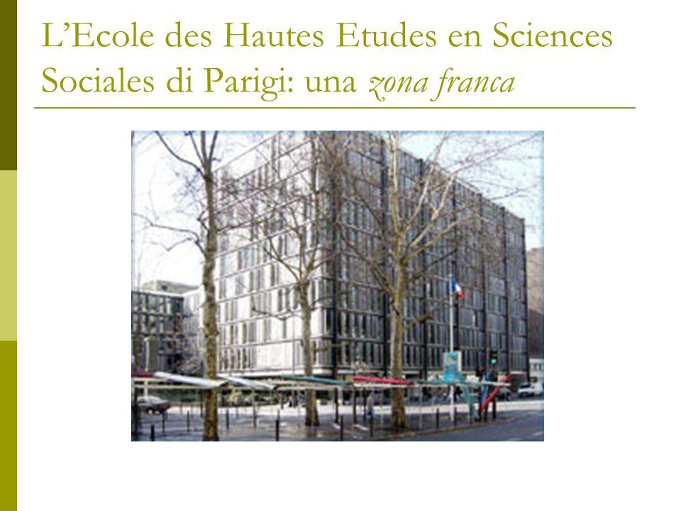 L'Ecole des Hautes Etudes en Sciences Sociales di Parigi: una zona franca