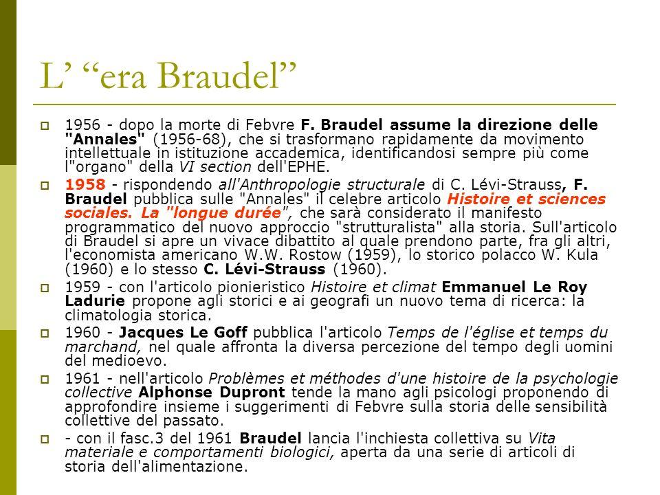 L' era Braudel
