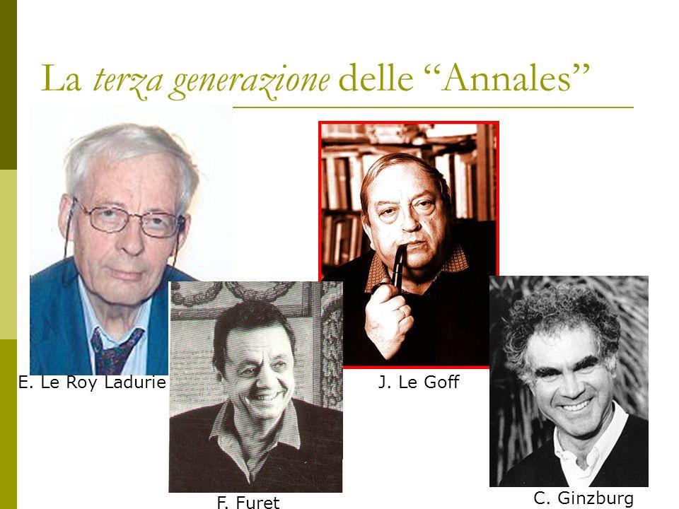 La terza generazione delle Annales