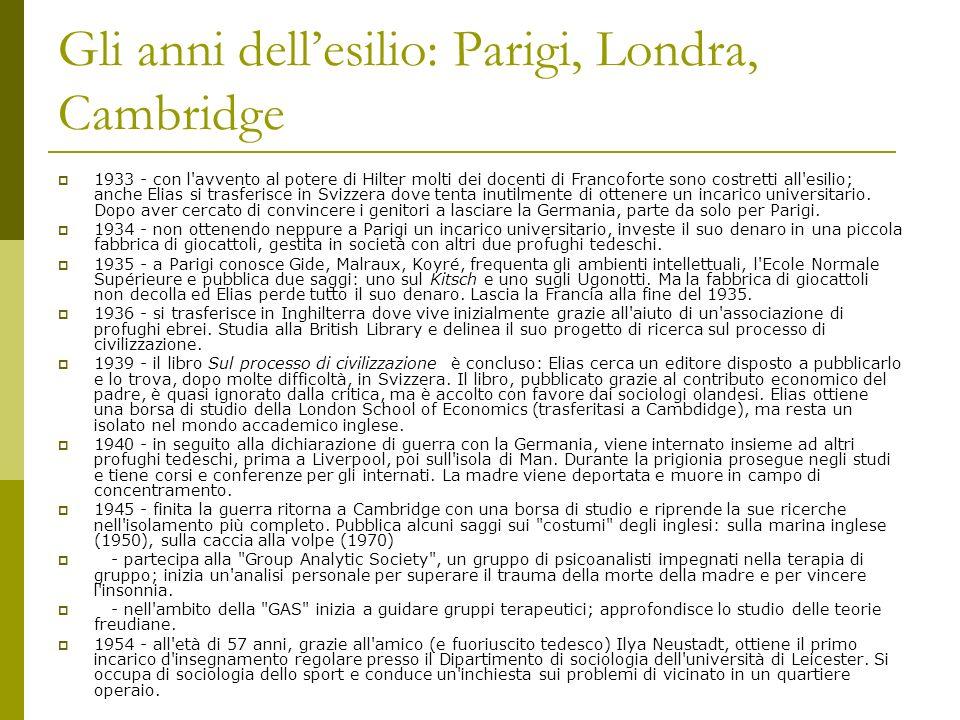 Gli anni dell'esilio: Parigi, Londra, Cambridge