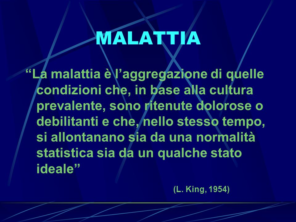 MALATTIA