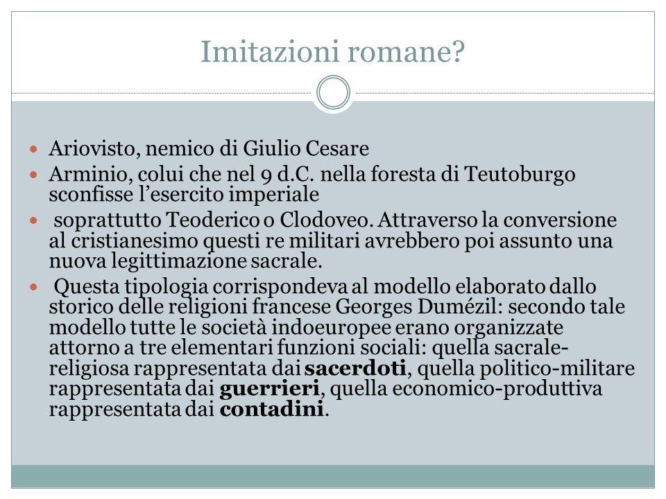 Imitazioni romane Ariovisto, nemico di Giulio Cesare