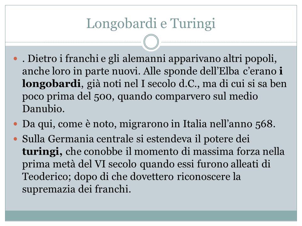 Longobardi e Turingi