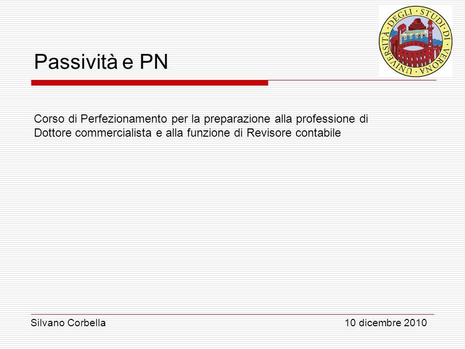 Corso di Perfezionamento per la preparazione alla professione di Dottore commercialista e alla funzione di Revisore contabile