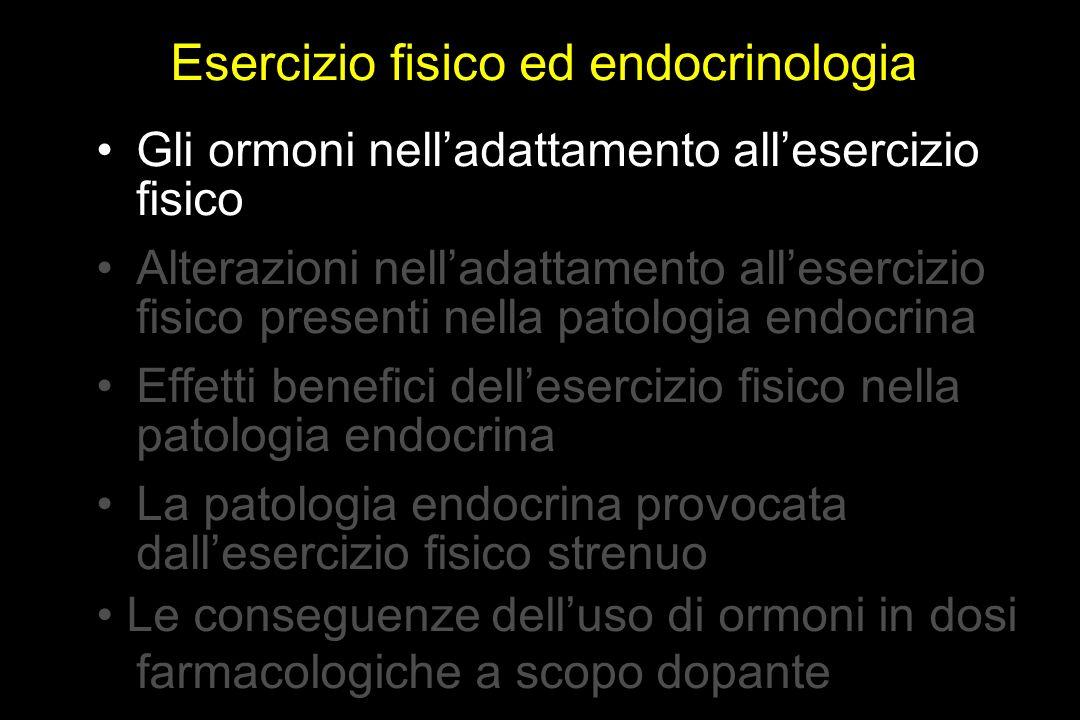 Esercizio fisico ed endocrinologia