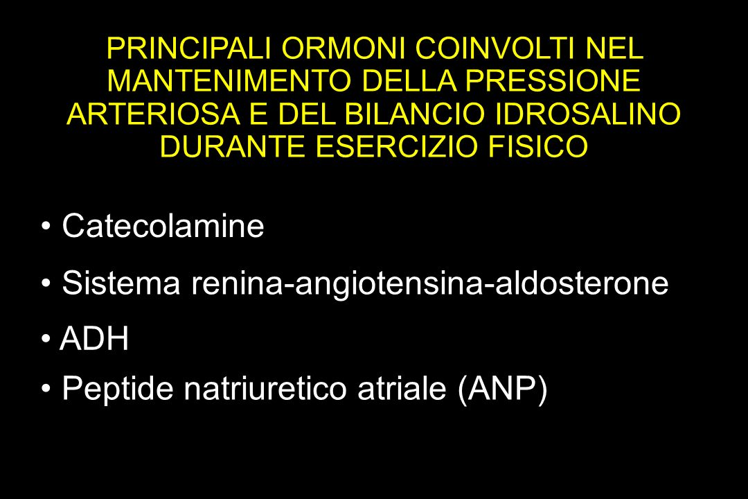 • Sistema renina-angiotensina-aldosterone
