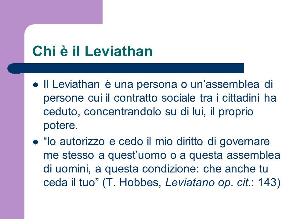 Chi è il Leviathan