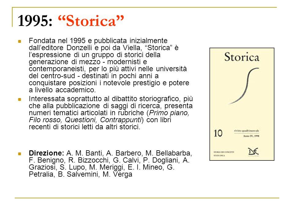 1995: Storica