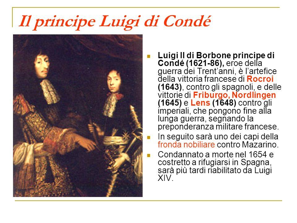 Il principe Luigi di Condé