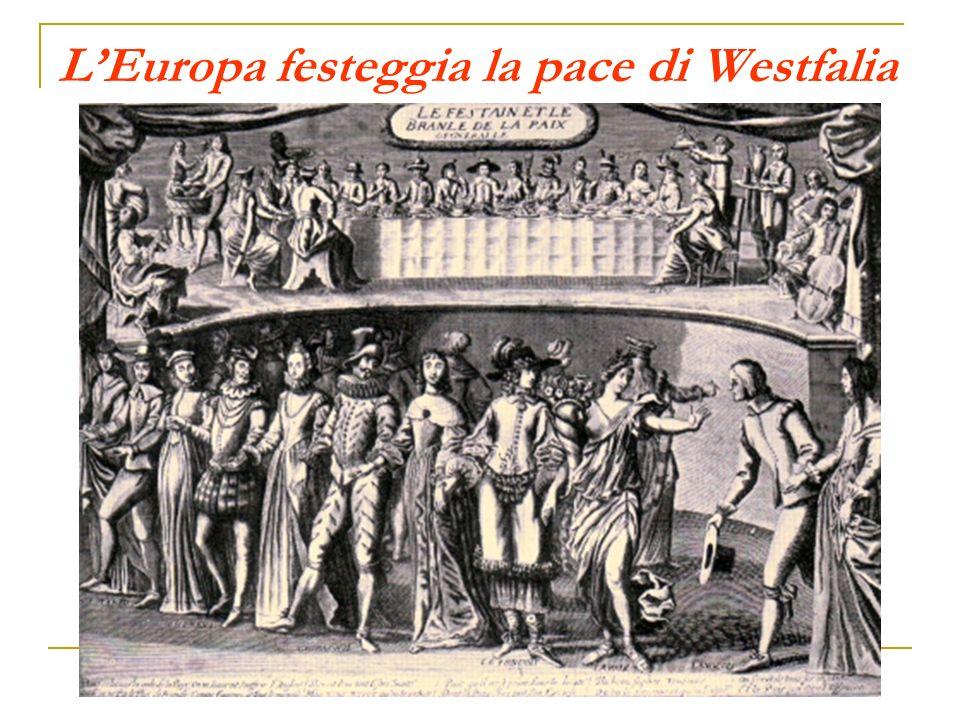 L'Europa festeggia la pace di Westfalia