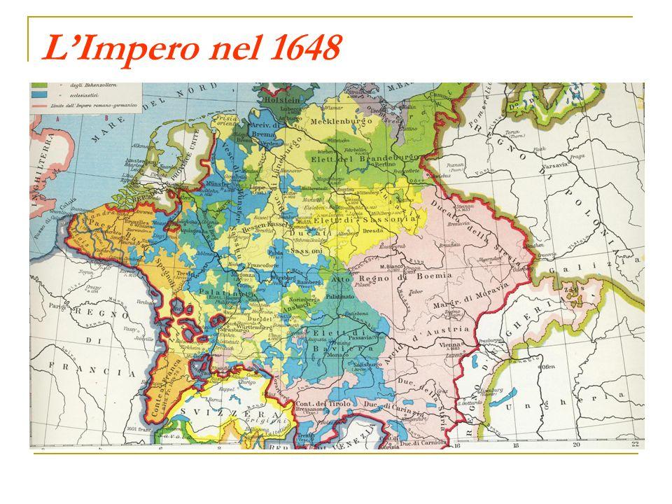L'Impero nel 1648