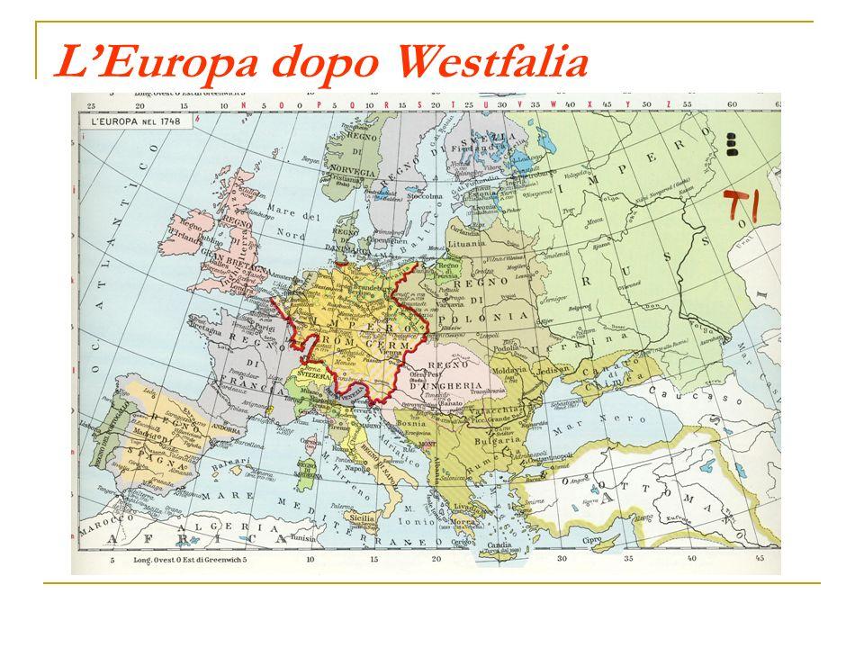 L'Europa dopo Westfalia