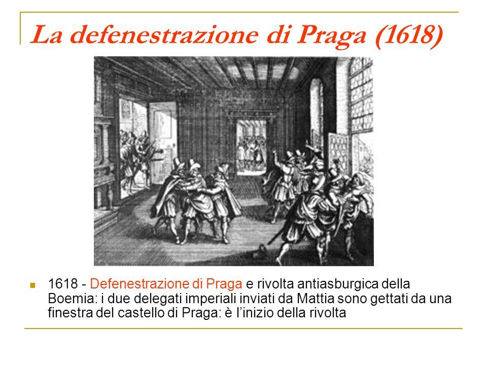 La defenestrazione di Praga (1618)