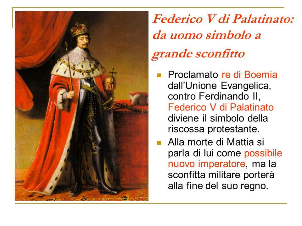 Federico V di Palatinato: da uomo simbolo a grande sconfitto