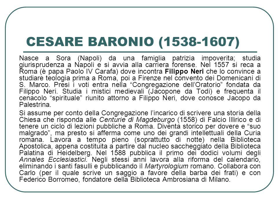 CESARE BARONIO (1538-1607)