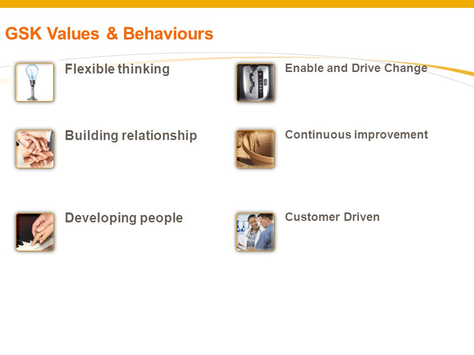 GSK Values & Behaviours