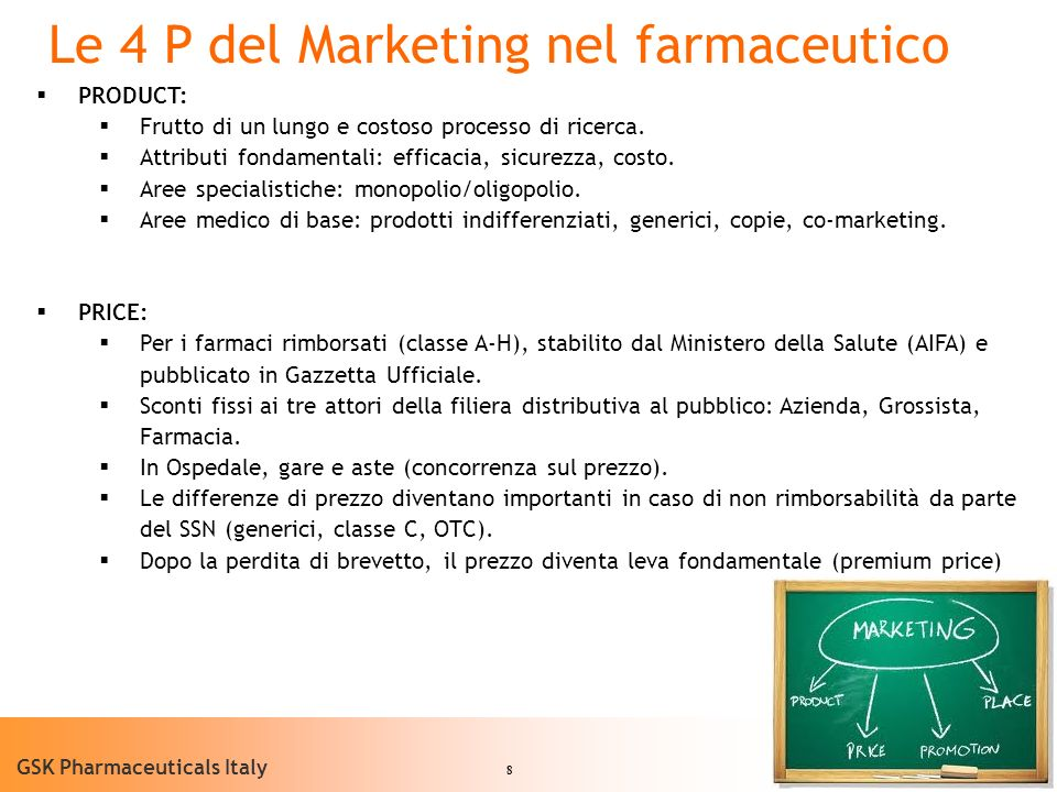 Le 4 P del Marketing nel farmaceutico