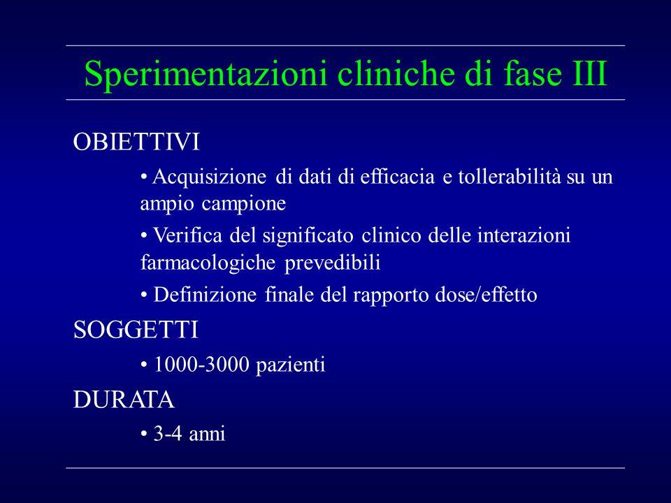Sperimentazioni cliniche di fase III