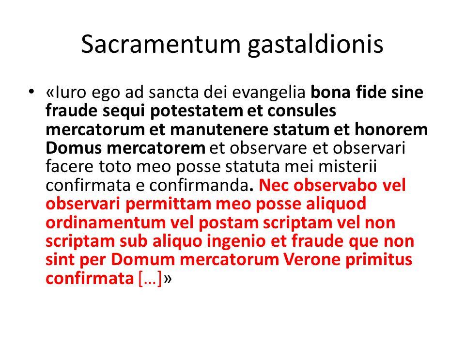 Sacramentum gastaldionis