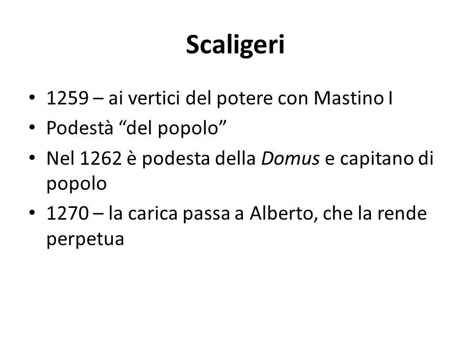 Scaligeri 1259 – ai vertici del potere con Mastino I